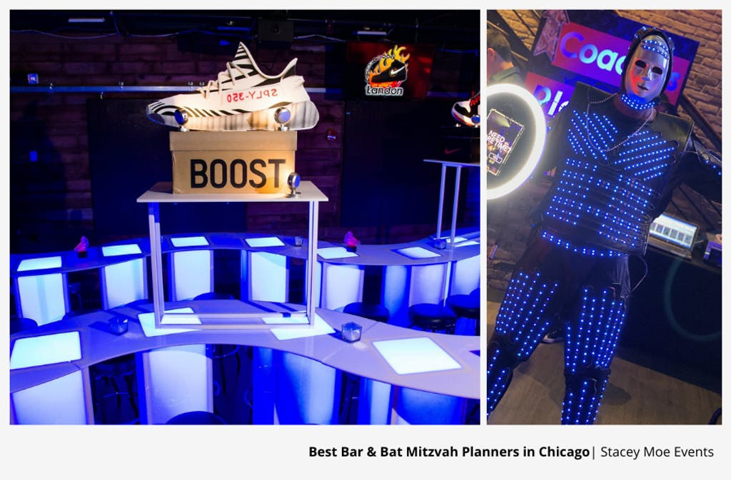 Sneaker Head-Themed Chicago Bar Mitzvah Party Planned by Stacey Moe Events | PartySlate