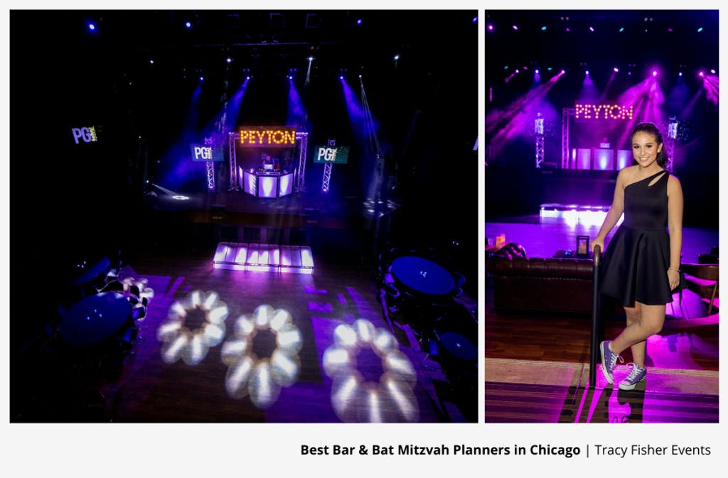 Purple Bat Chicago Bat Mitzvah Party Planned By Tracy Fisher Events | PartySlate