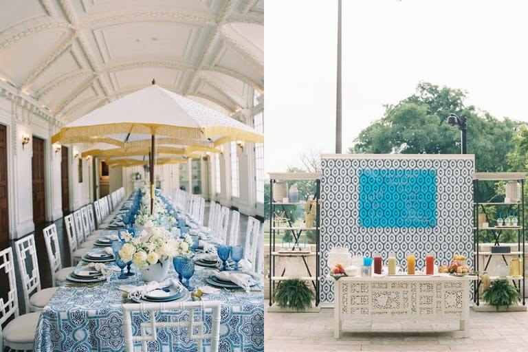 Moroccan-Themed Outdoor Baby Shower   PartySlate