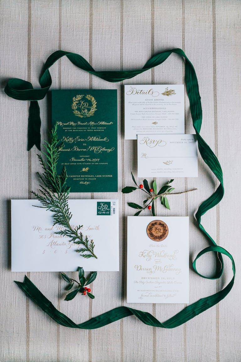 Dazzling Winter Wedding at The Ritz-Carlton Reynolds, Lake Oconee in Greensboro, NC