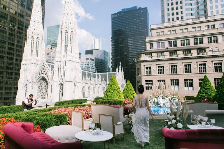 Elevated Rooftop Wedding at 620 Loft & Garden in New York