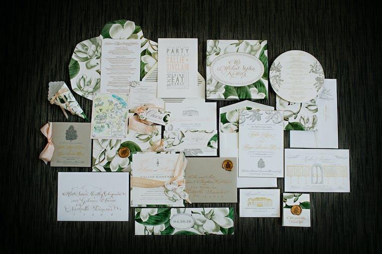 Garden Themed Spring Wedding