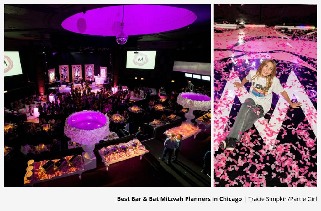 Love-Themed Chicago Bat Mitzvah Party Planned By Tracie Simpkin/Partie Girl | PartySlate