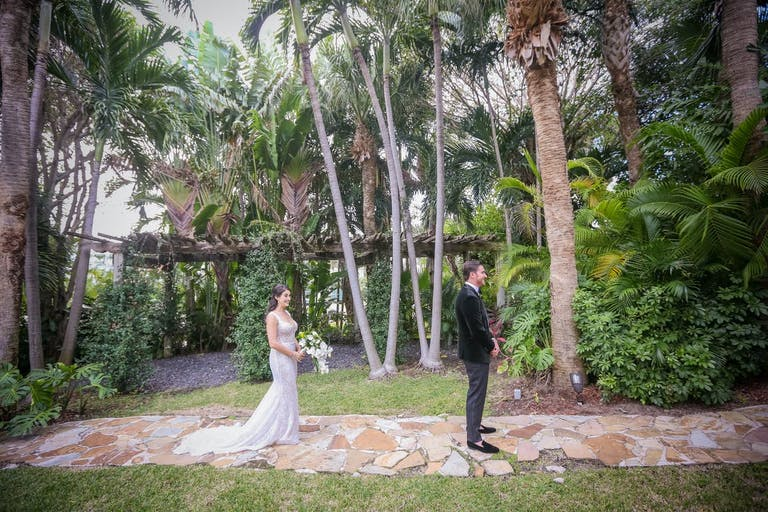 Tropical and Chic beach wedding venue | PartySlate