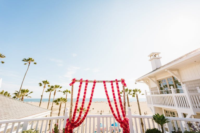 Beach wedding venues at Santa Monica Pier   PartySlate