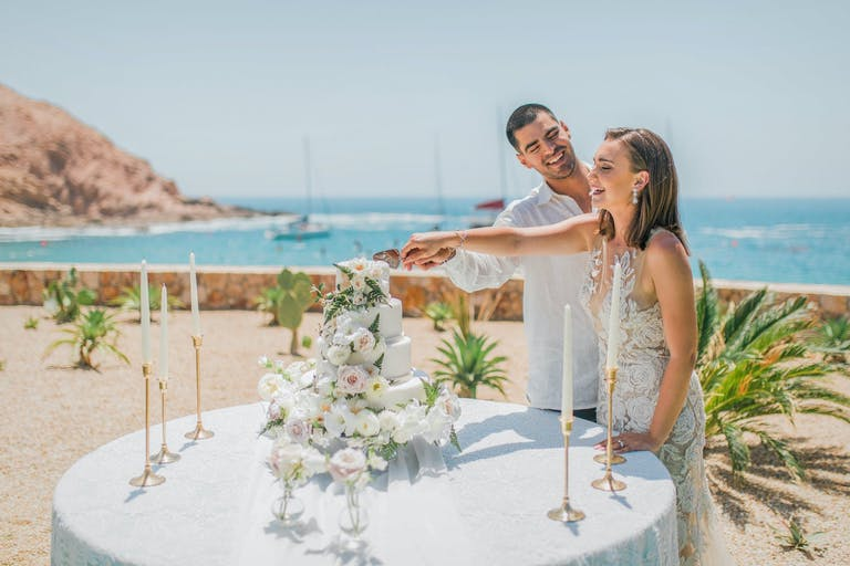 Cabo Beach Wedding venue with beautiful scenic views | PartySlate