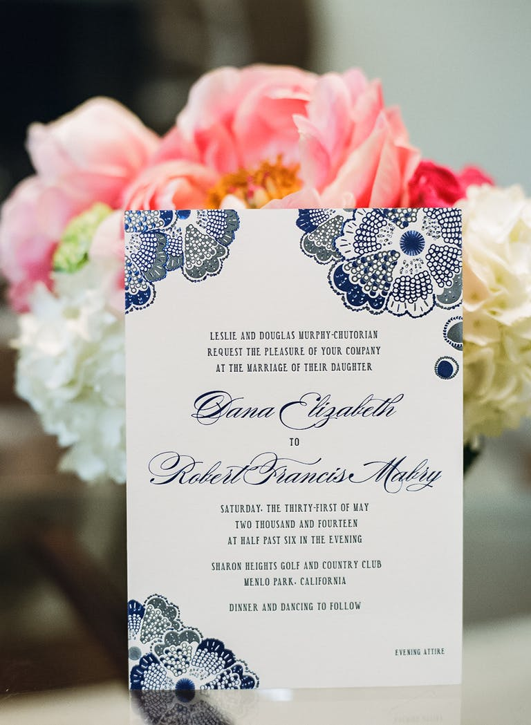 Vibrant Spring Wedding at Sharon Heights Golf & Country Club in Palo Alto, CA