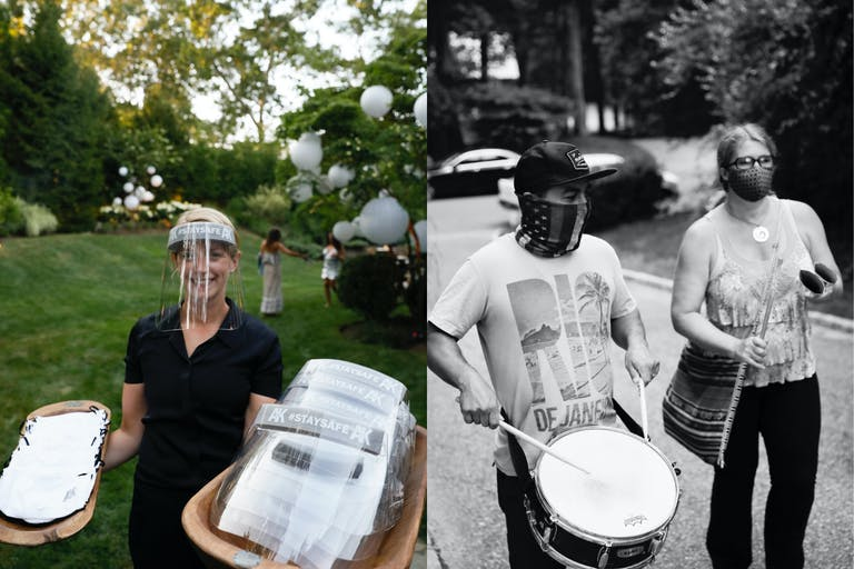 Socially Distanced Backyard Birthday Party With Masked Staff and Entertainment | PartySlate