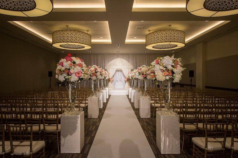 Blush & White Wedding