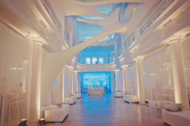 MODERN WEDDING AT MOORE BUILDING IN MIAMI DESIGN DISTRICT IN MIAMI, FL | PARTYSLATE