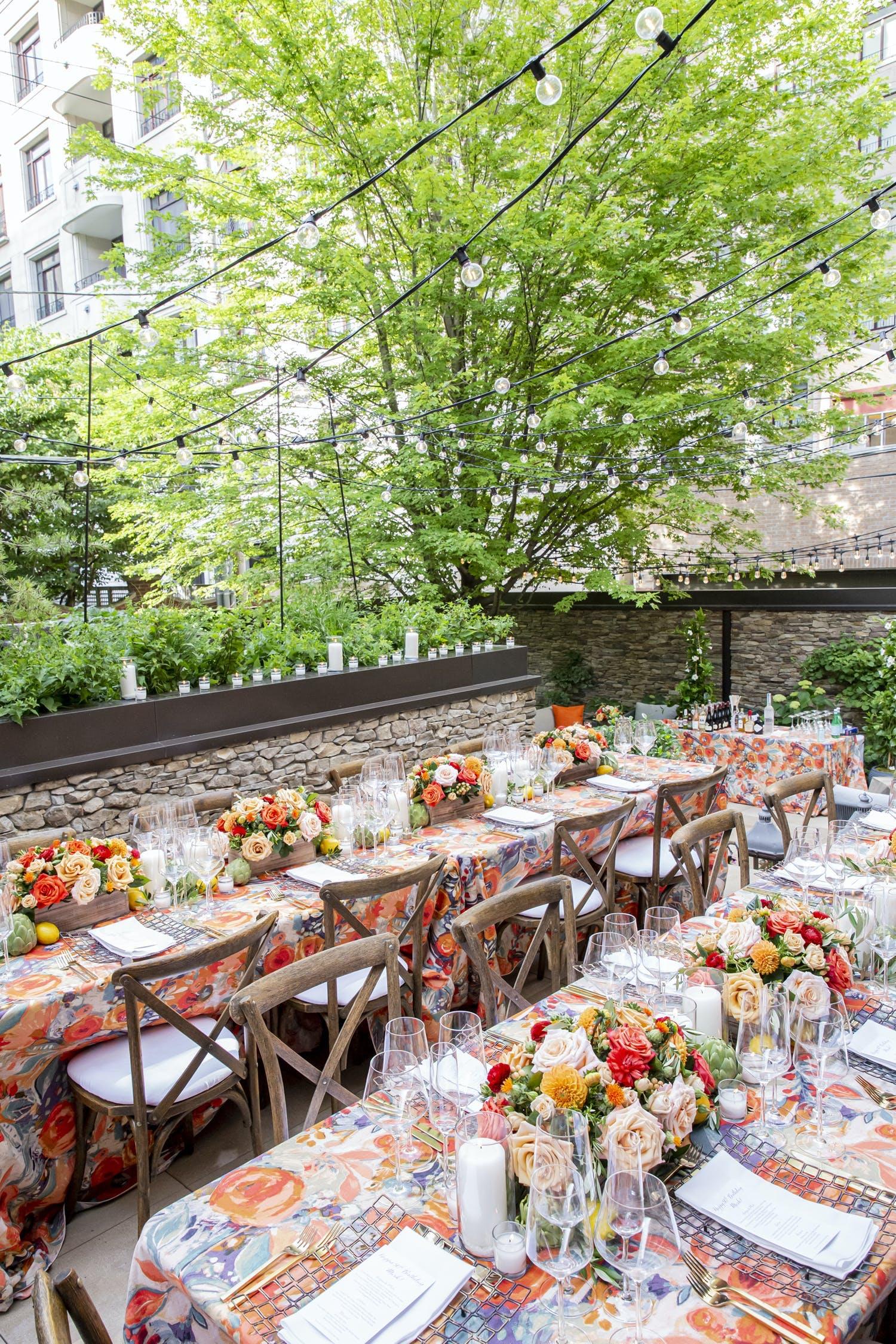 BBJ Linen covid-friendly outdoor birthday celebration | PartySlate