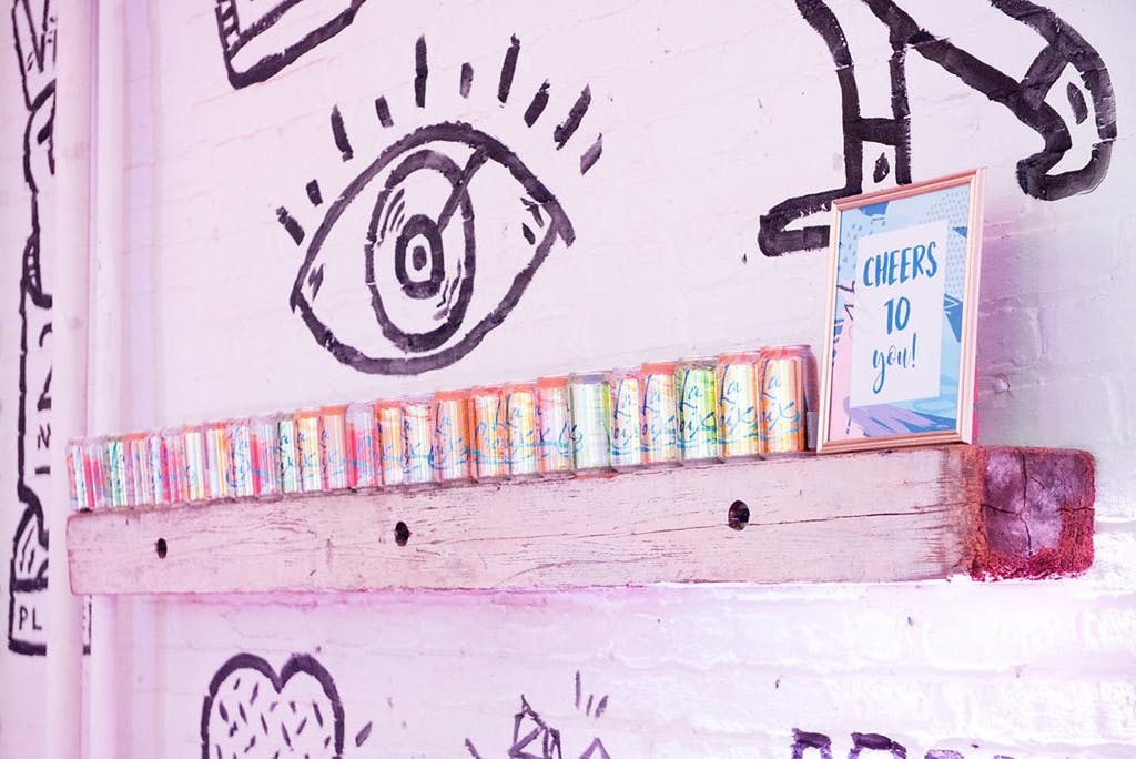 Urban-Themed Sweet 16 Party With La Croix Décor | PartySlate