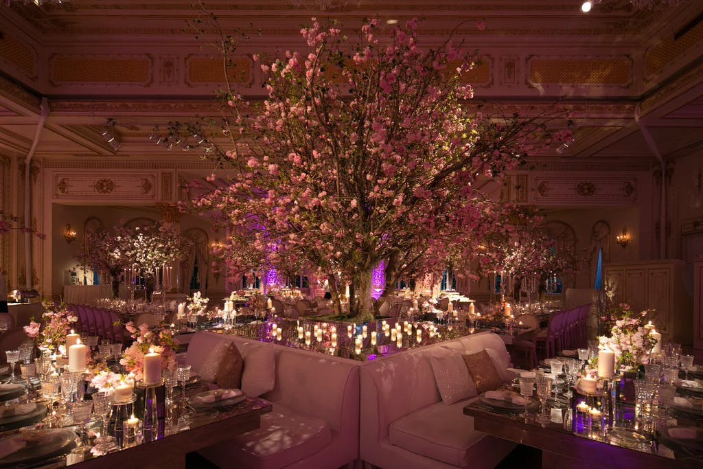 Pink Enchanted Forest Wedding | PartySlate