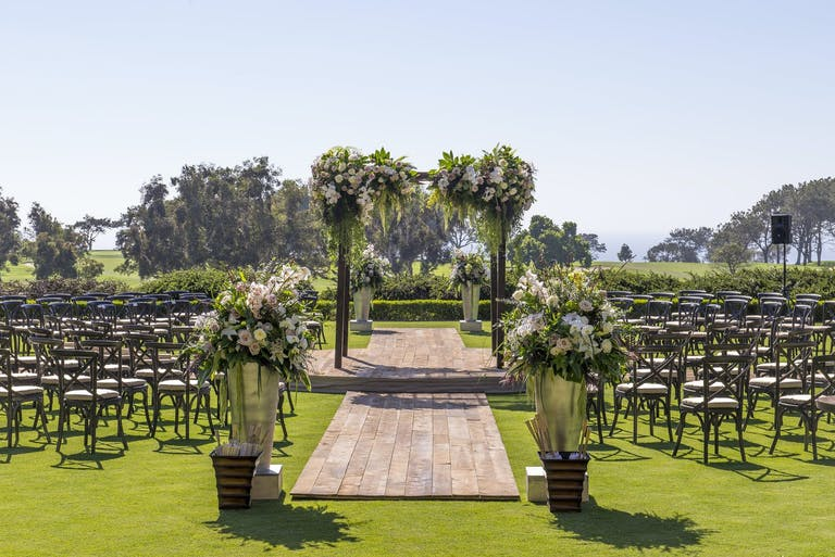 Rustic California wedding reception   PartySlate