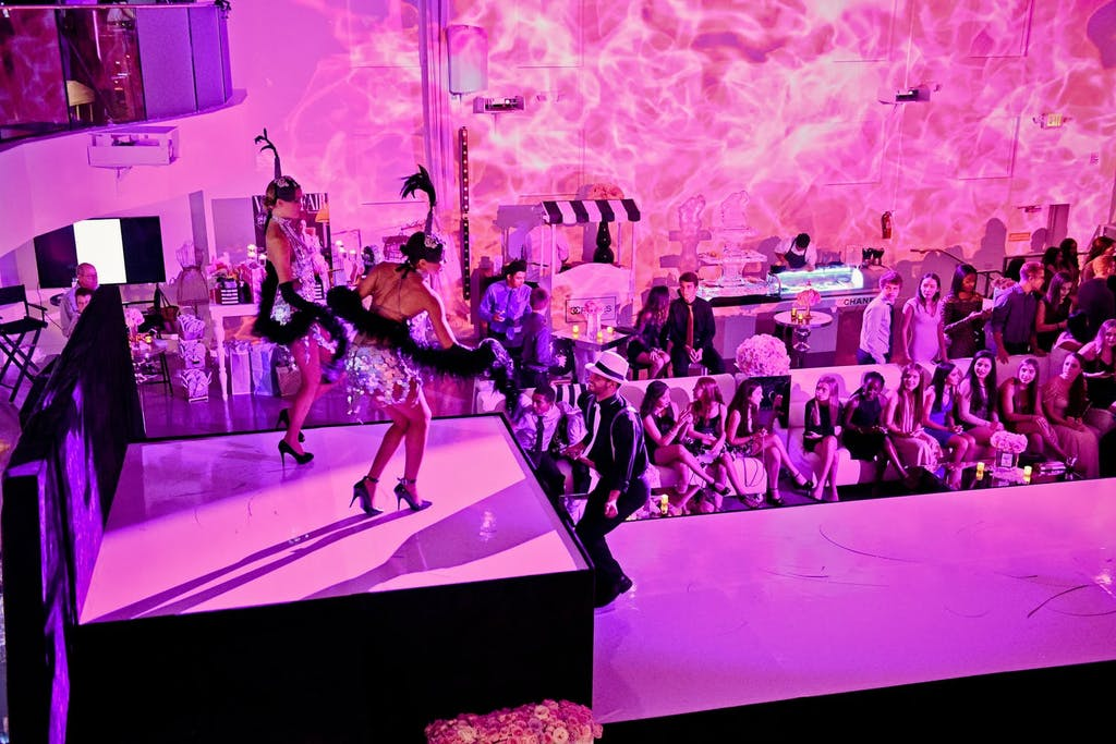 Hot Pink Sweet 16 Party With Fashion Runway and Performers | PartySlate