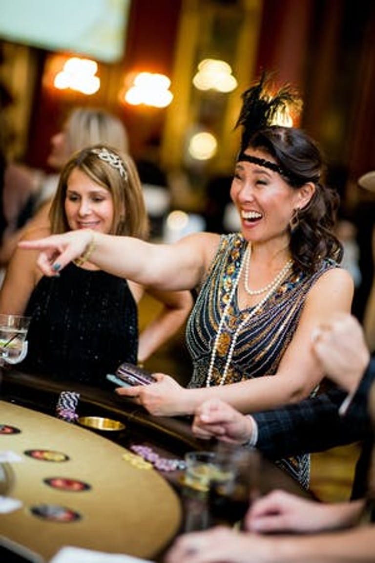 The Great Gatsby Party Themes Aren't Complete Without Some Casino Fun | PartySlate