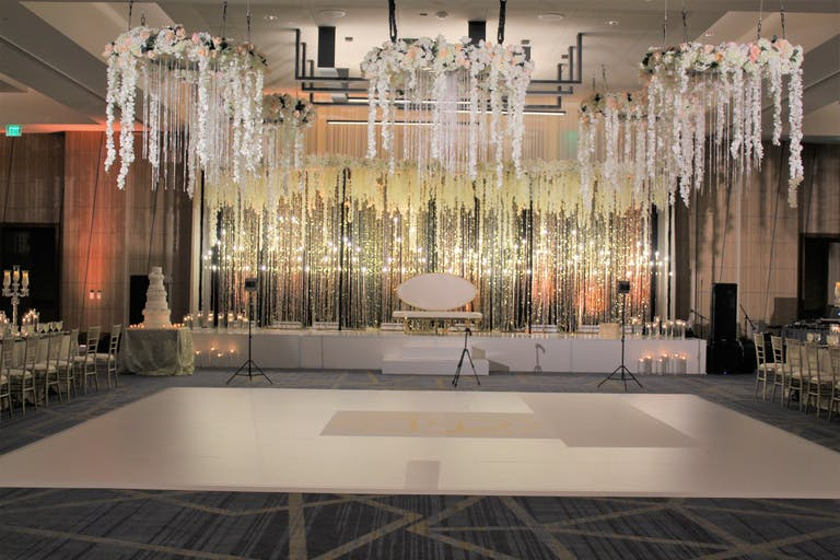 White & Gold Wedding at Westin Irving Convention Center at Las Colinas in Irving, TX