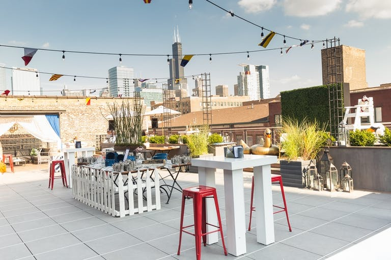 Celebration on Rooftop Penthouse at Morgans on Fulton in West Loop Chicago | PartySlate