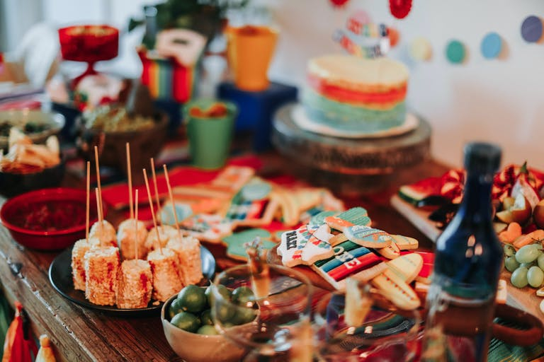 Baby's First Birthday Fiesta in Miami Beach, Florida with Mexican Food and Desserts | PartySlate