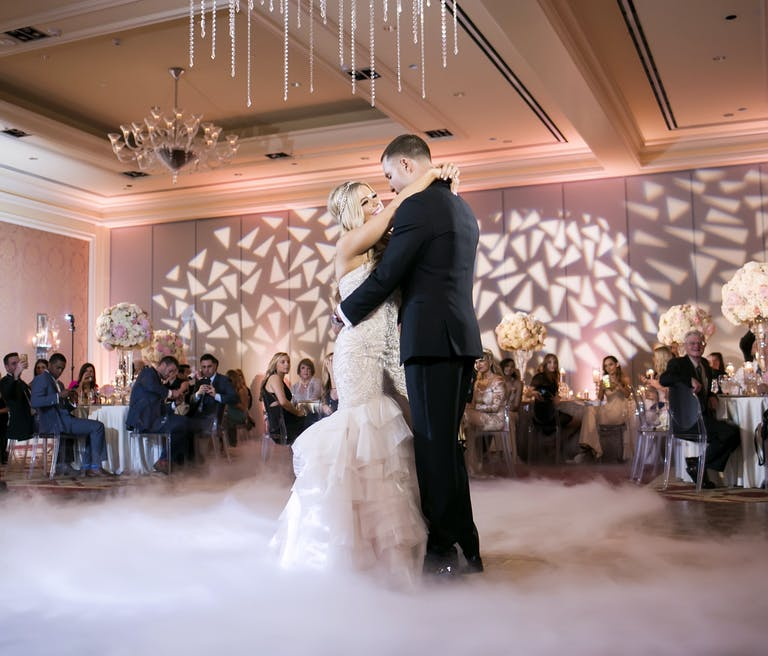 Glamorous Blush Wedding