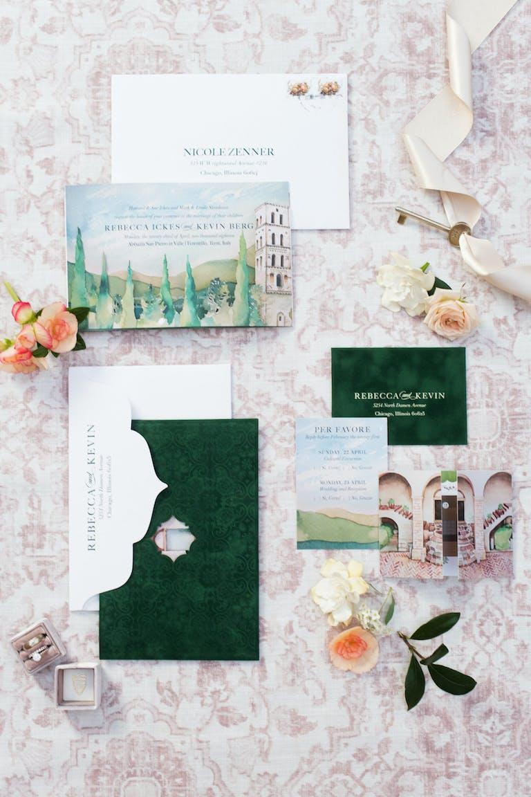 Intimate Italian Destination Wedding