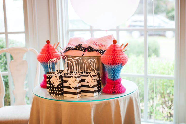 Milkshakes and Manicures Kids Birthday Party with Personalized Robe Party Favors | PartySlate