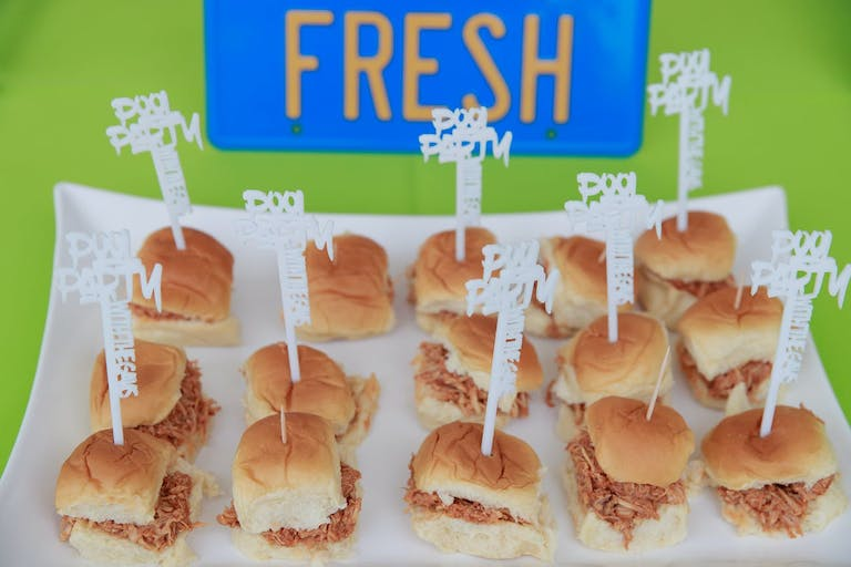 Fresh Prince of Bel Air themed food at 90's themed party | PartySlate