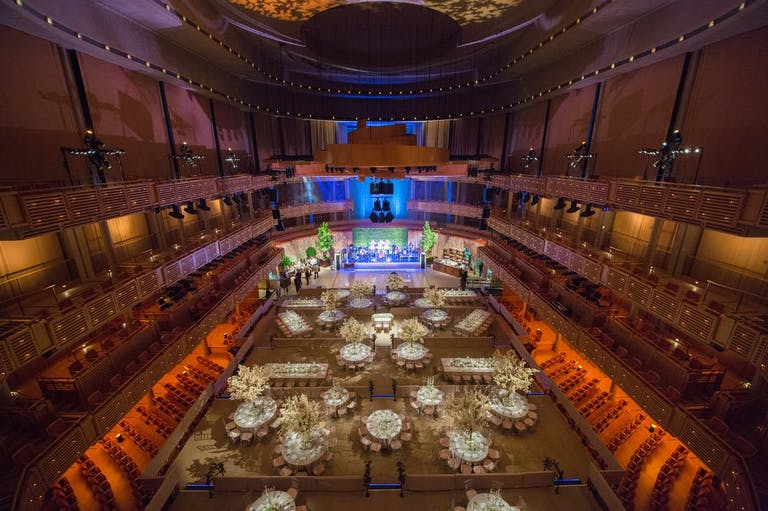 A concert hall used as a Miami wedding venue space | PartySlate