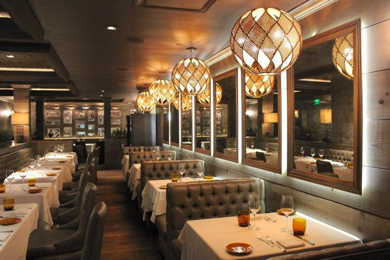The Dolce Italian at the Gale for Private Party With Sparkly and Circular Lighting with Booths | PartySlate