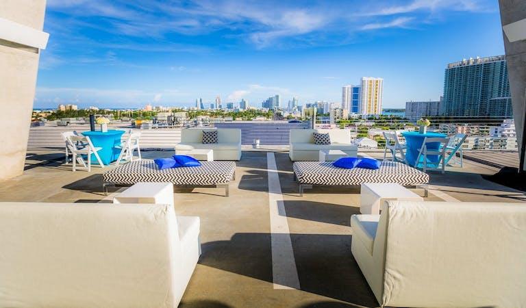 Rooftop Miami wedding venue space | PartySlate