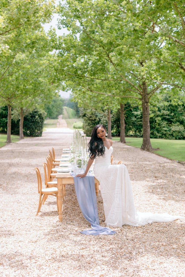 Outdoor PhotoShoot at an Intimate Wedding | PartySlate