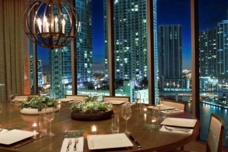 Private Dining Room at Area 31 in Miami | PartySlate