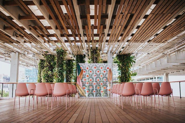 Breezy South Florida Wedding at Pérez Art Museum Miami in Miami, FL