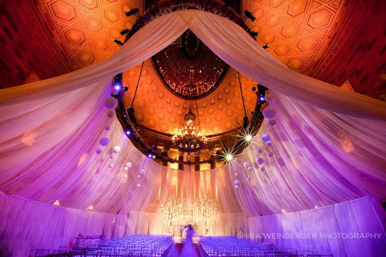 Glamorous Multicultural NYC Wedding at Gotham Hall in New York