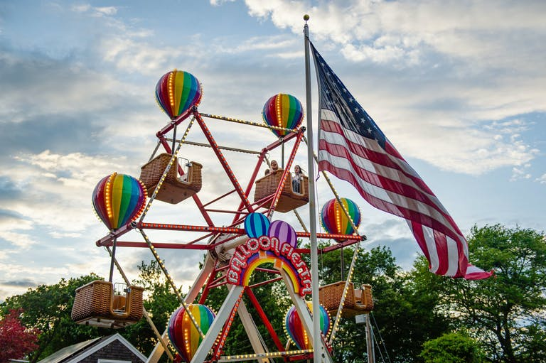 Incredible Carnival Themed Graduation Party in Lyme, Connecticut