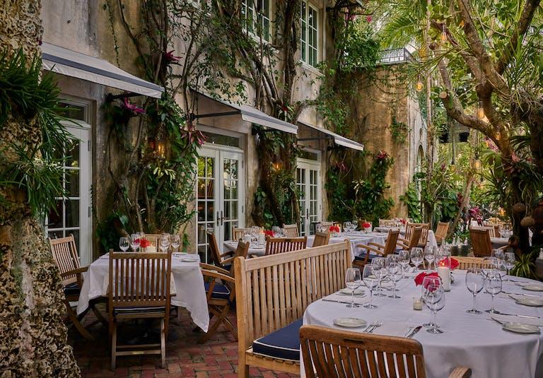 The Garden at Casa Tua in Miami South Beach for Private Dining | PartySlate