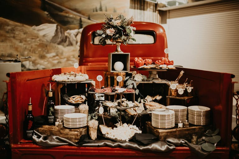 Old Hollywood Themed, Vintage Graduation Party