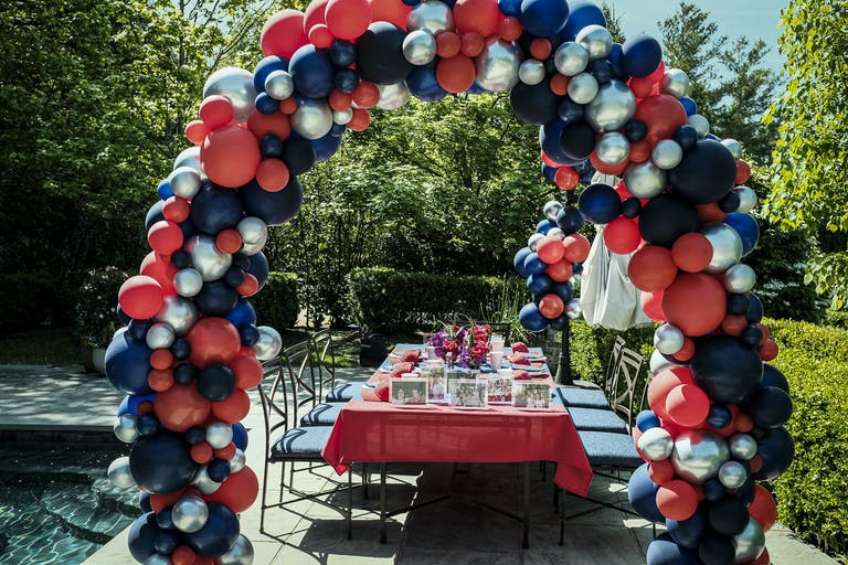 Outdoor Graduation Parties at in New Vernon, New Jersey