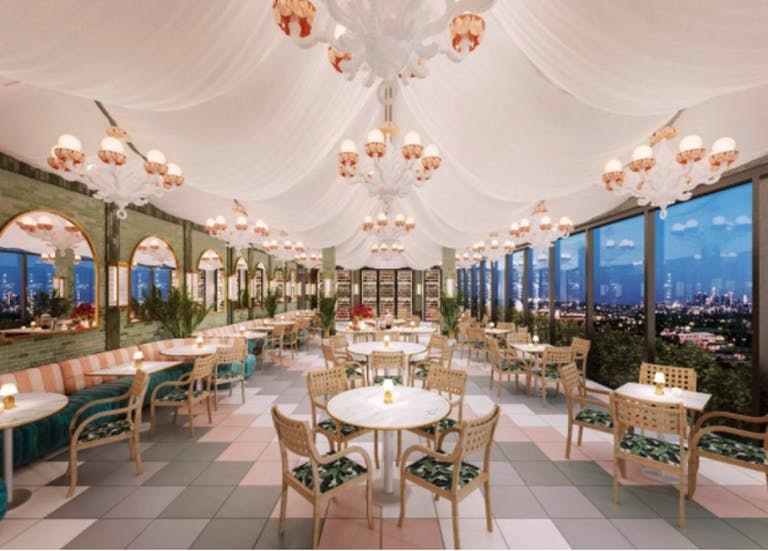 Celebration at the Rooftop Restaurant at Pendry West Hollywood   PartySlate