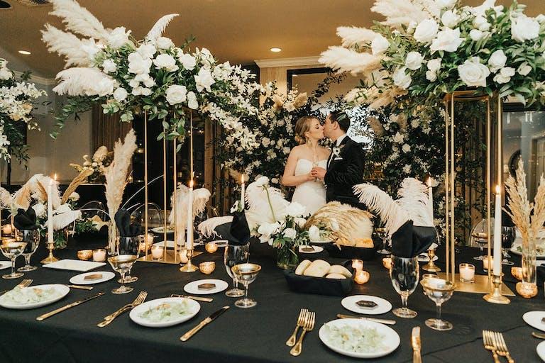 Gatsby Inspired Hotel Wedding   PartySlate
