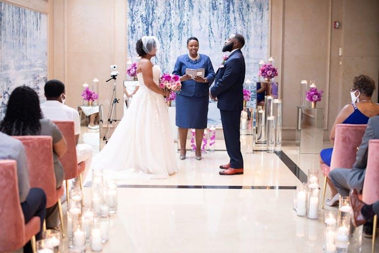 Modern Small Wedding at Four Seasons Hotel Washington, DC
