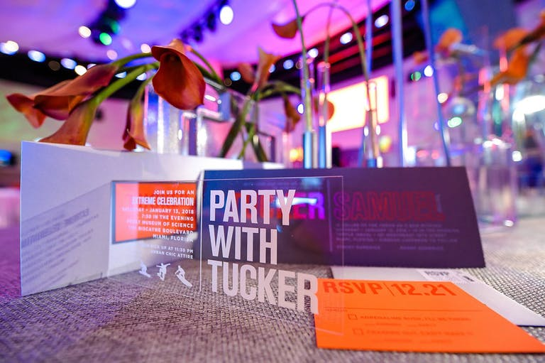 Lucite Xtreme Sports-Themed Bar Mitzvah Invitation | PartySlate