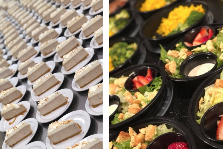 Cheesecake and Salads by B.D.S. Catering & Productions | PartySlate