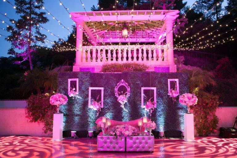 Pink Lighting and Effects for Private Event by STR-Miami | PartySlate