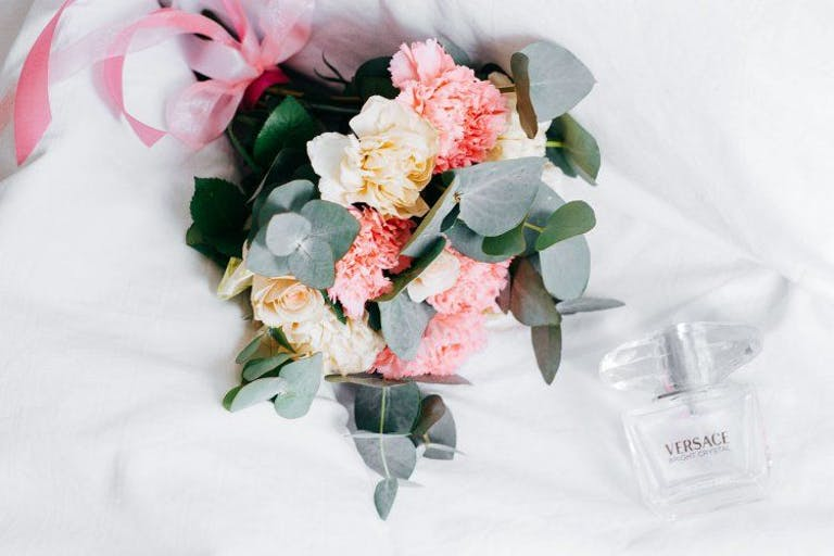 Pink Wedding Bouquet With Greenery | PartySlate