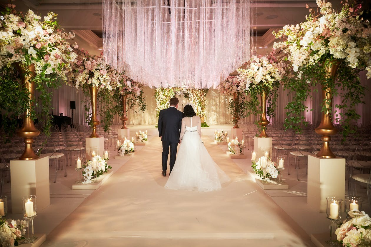 Enchanted Gold Wedding at Four Seasons Hotel Chicago   PartySlate