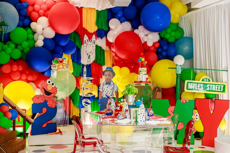 Elmo-Themed Kid's Birthday Party by Events by Boosh | PartySlate
