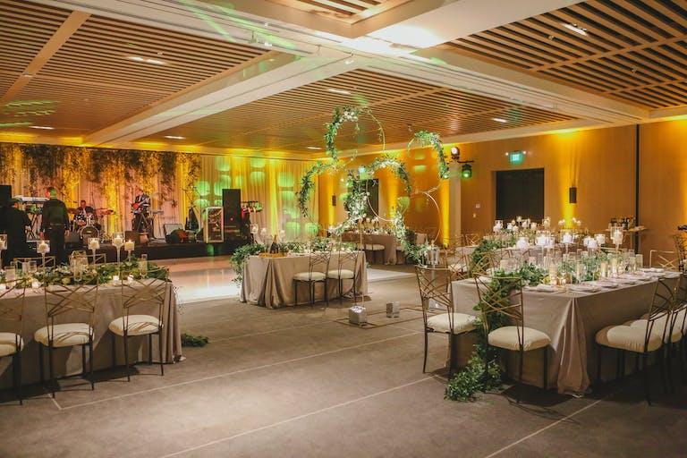 Modern Garden Wedding Reception at The Miami Beach EDITION | PartySlate