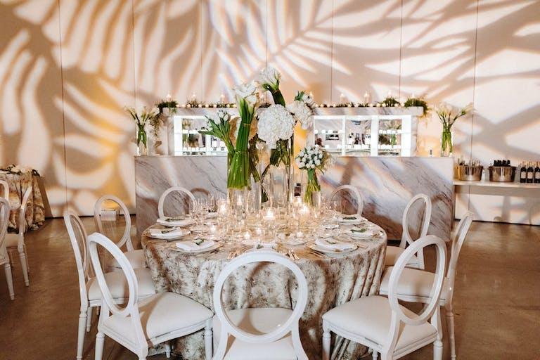 Monochromatic White Wedding at Faena Hotel Miami Beach | PartySlate