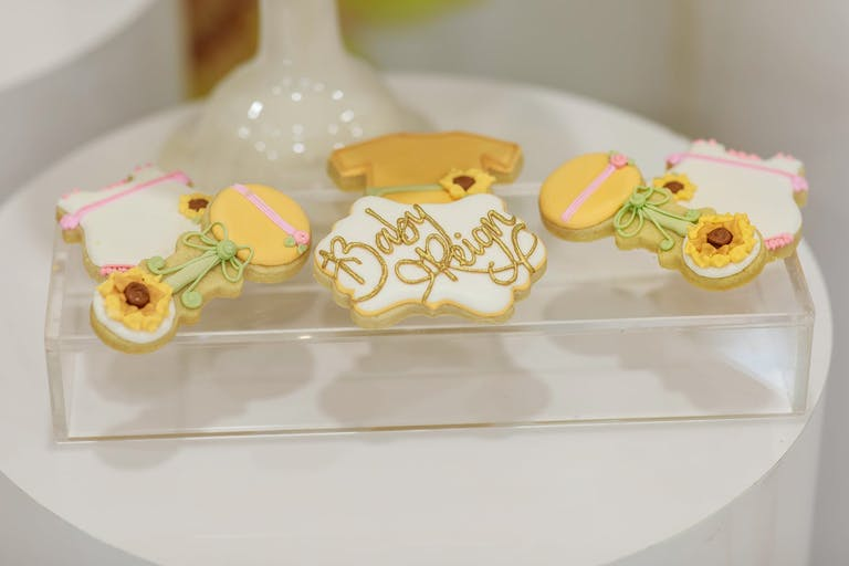 Baby Shower Iced Cookies | PartySlate
